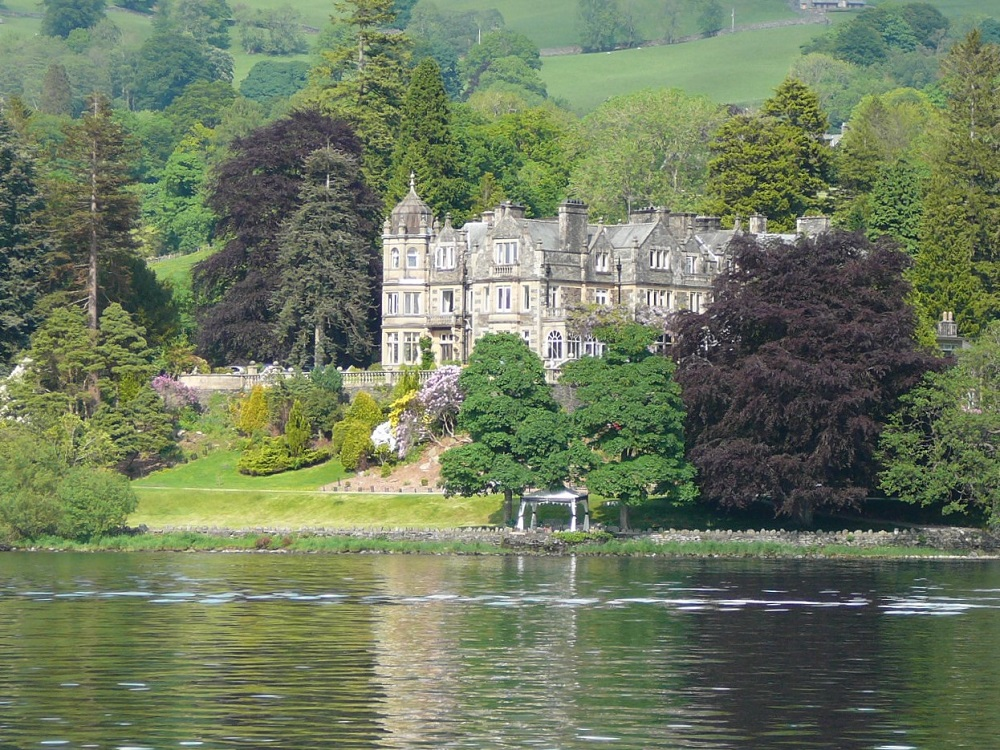 Castle at Lake Districts, UK