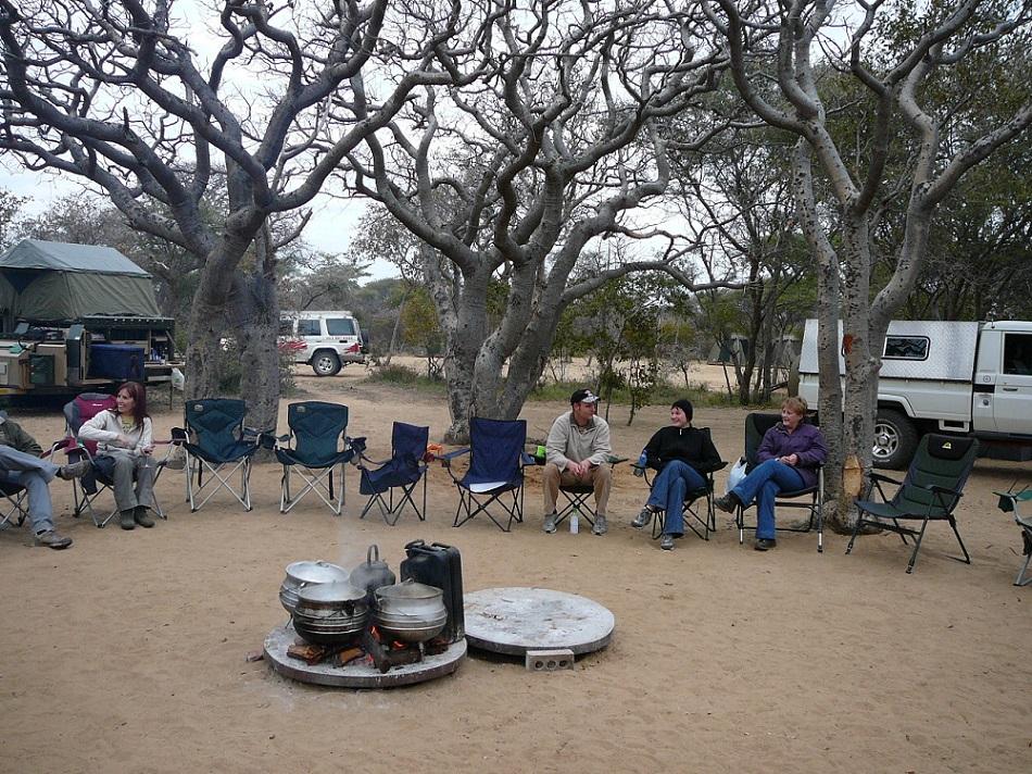 www.roaming-fox.com campsite Khama rhino sanctuary.JPG