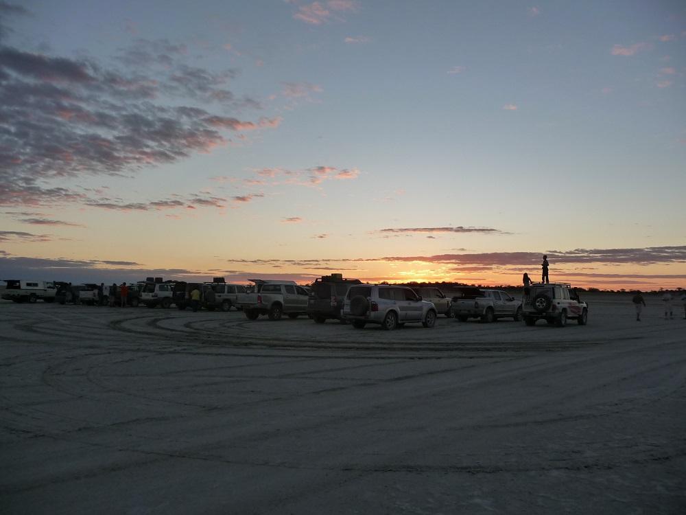 www.roaming-fox.com Watching sunset Mkgadikgadi.JPG