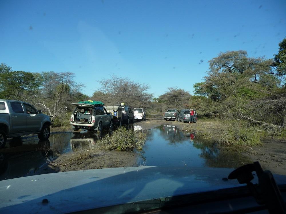 www.roaming-fox.com vehicles waiting Okavango.JPG