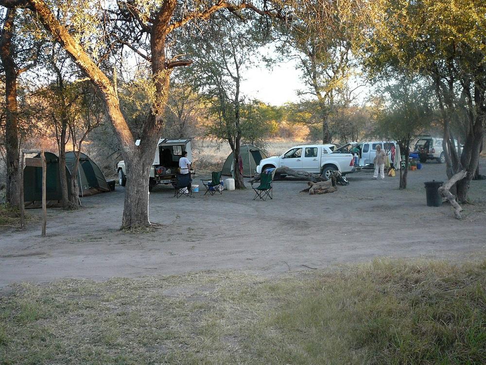 Camping Moremi outside South Gate.JPG