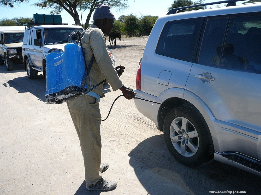 Foot and mouth control stop in Botswana