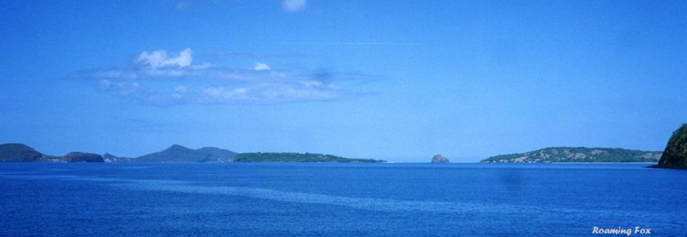 Panoramic Madagascar islands