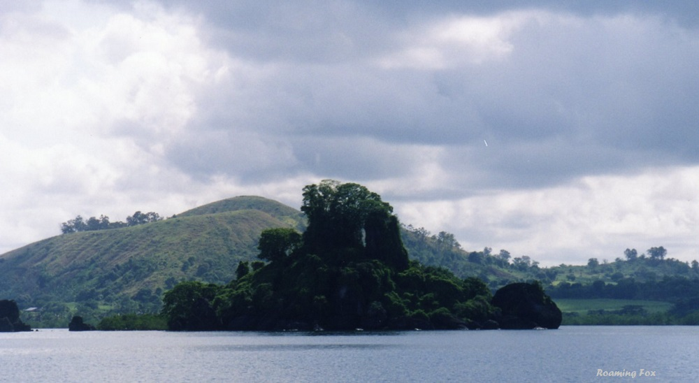 Burial sights are sacred in Madagascar - this one, the entire island is sacred