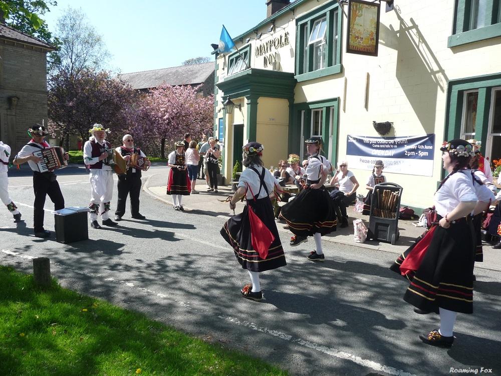 Morris English Folk dancers and musicians