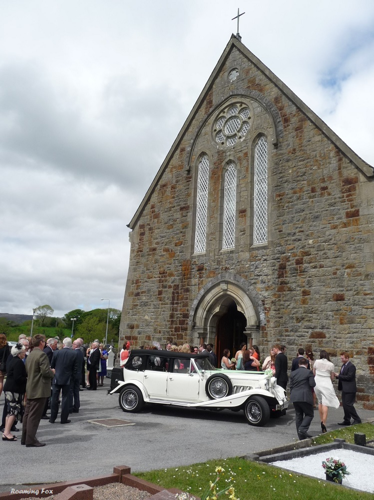 Wedding at St Agatha's Church, Clar, Donegal Town