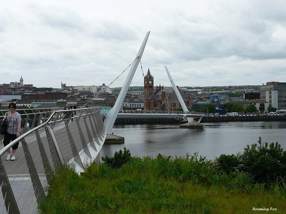 Peace Bridge Londonderry/ Derry
