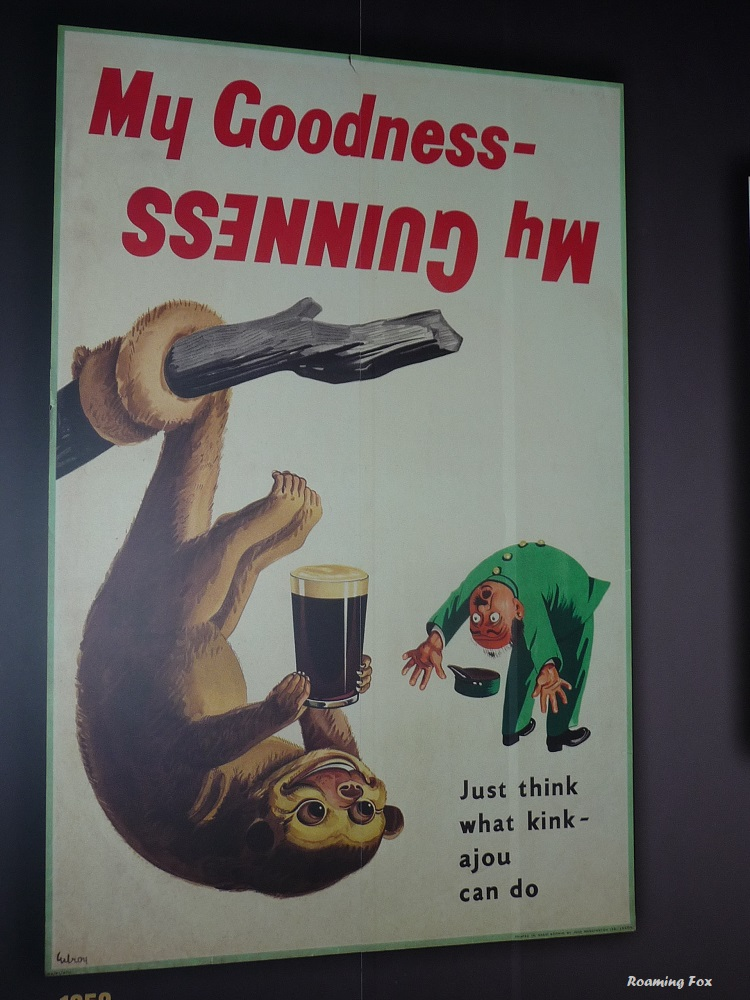 Guinness joke placards