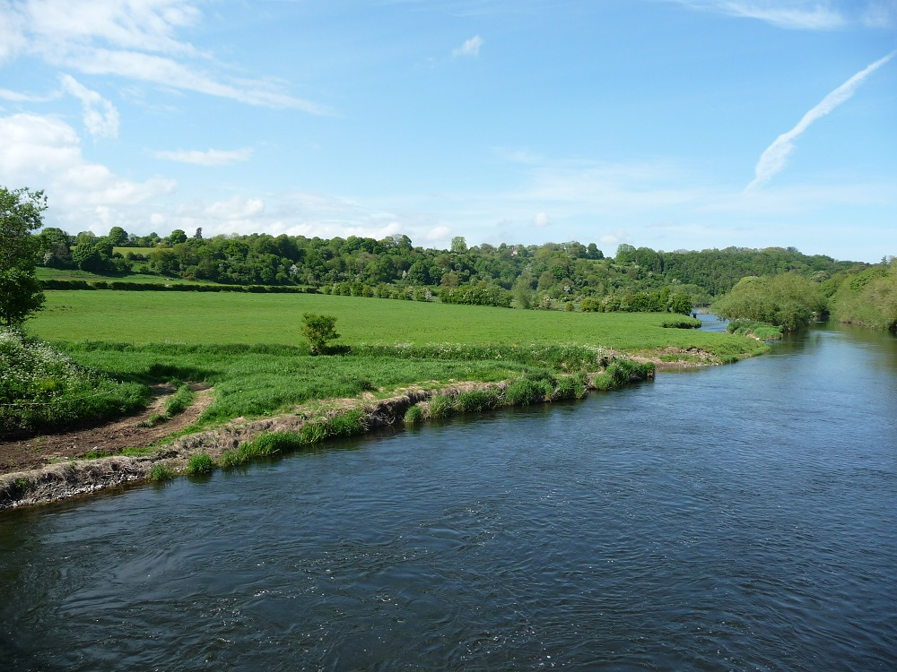 Beautiful countryside in England