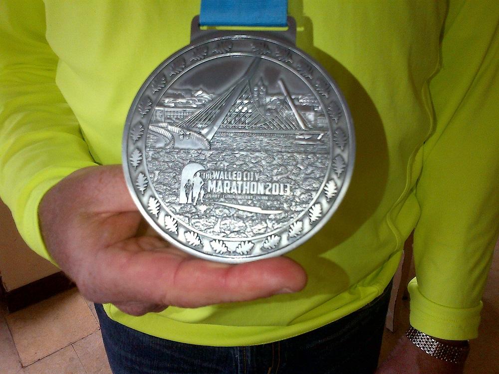 RF Medal Walled City Marathon 2013