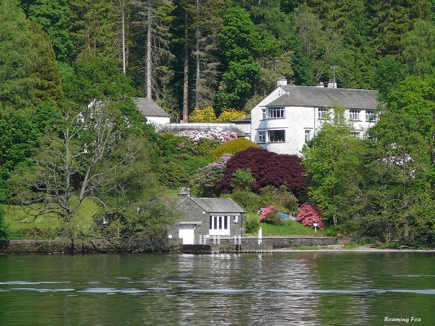 RF Lake Districts house on Lake Windermere