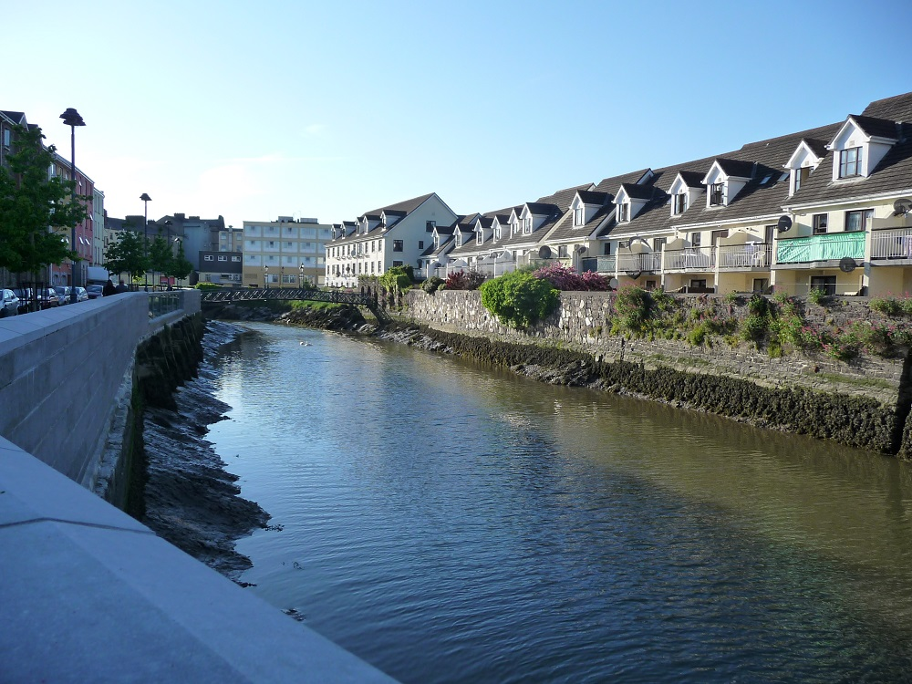 RF Waterford canal leading to river