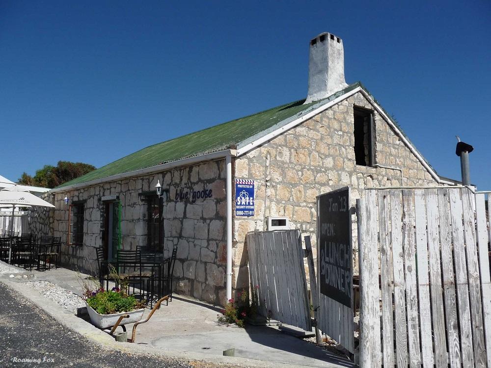 Blue Goose Gansbaai traditional limestone building