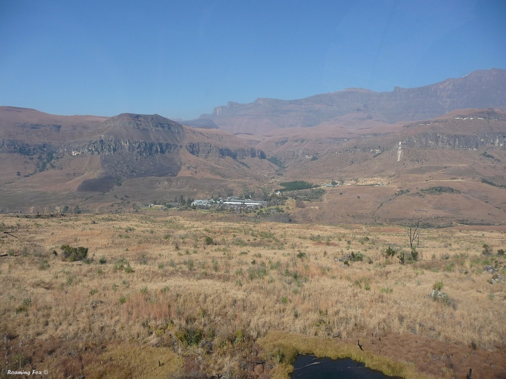 Back to Cathedral Peak Drakensberg