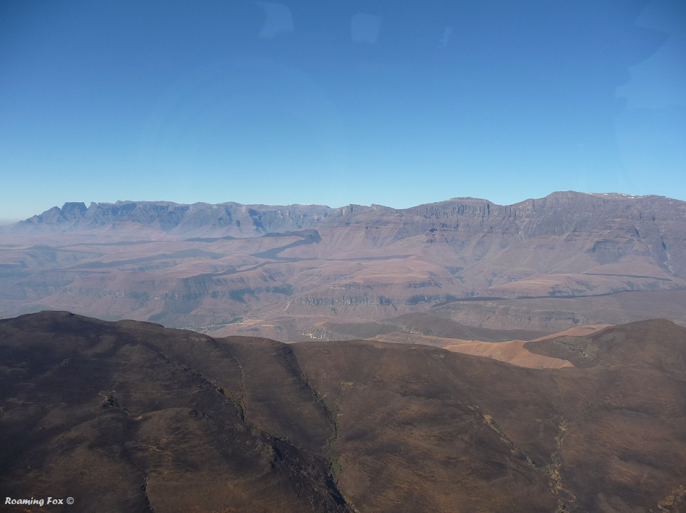 The magnificent Drakensberg Mountain range