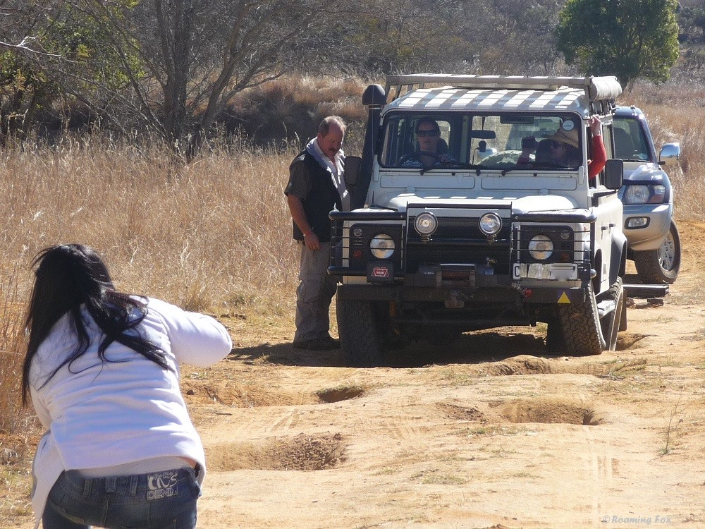 Mastering four-wheel drive off-road skills