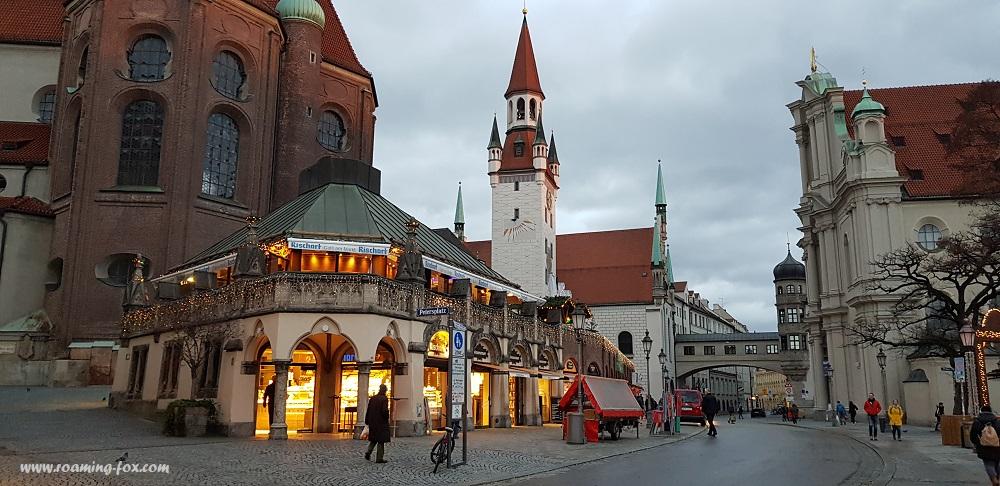 A street near the Viktualienmarkt
