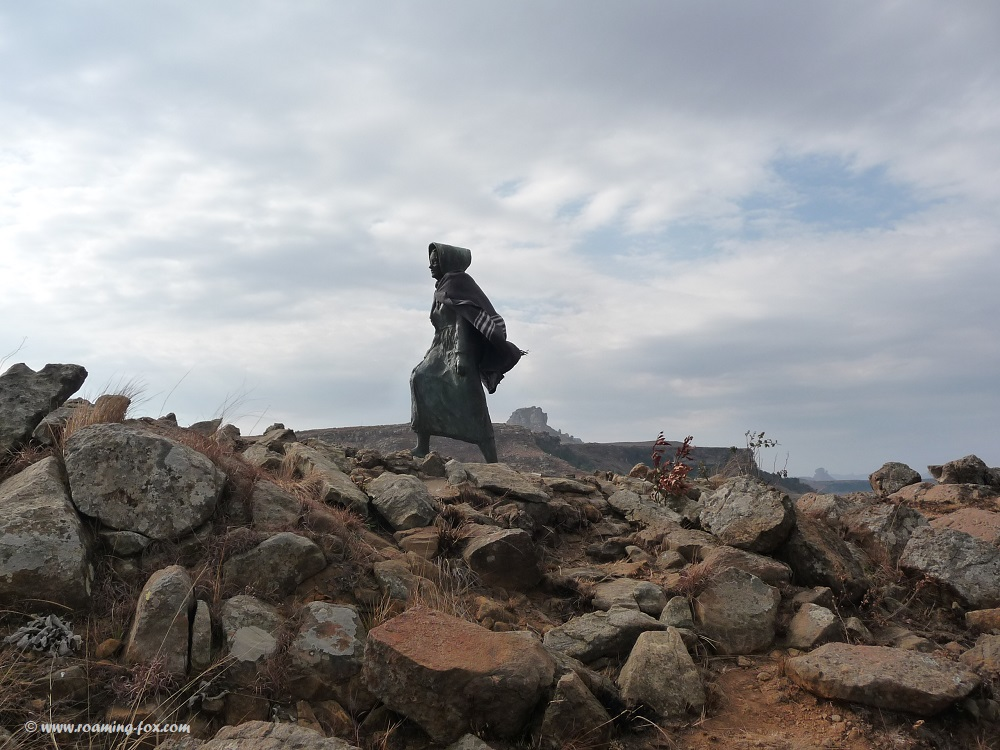 Kaalvoet vrou monument - a woman determined not to be ruled by the British - a thought provoking heritage site