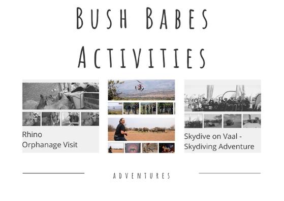 Bush Babes activities