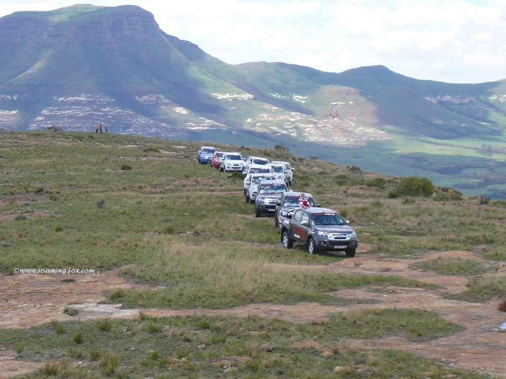 The plateau overlooking Moolmanshoek valley