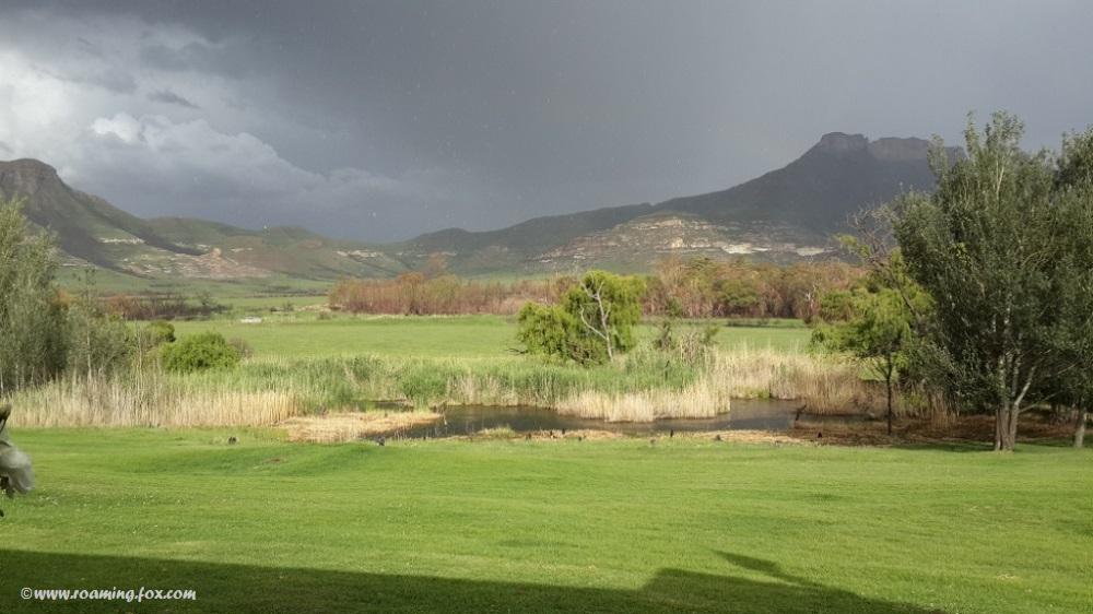 Thunderstorm over Moolmanshoek