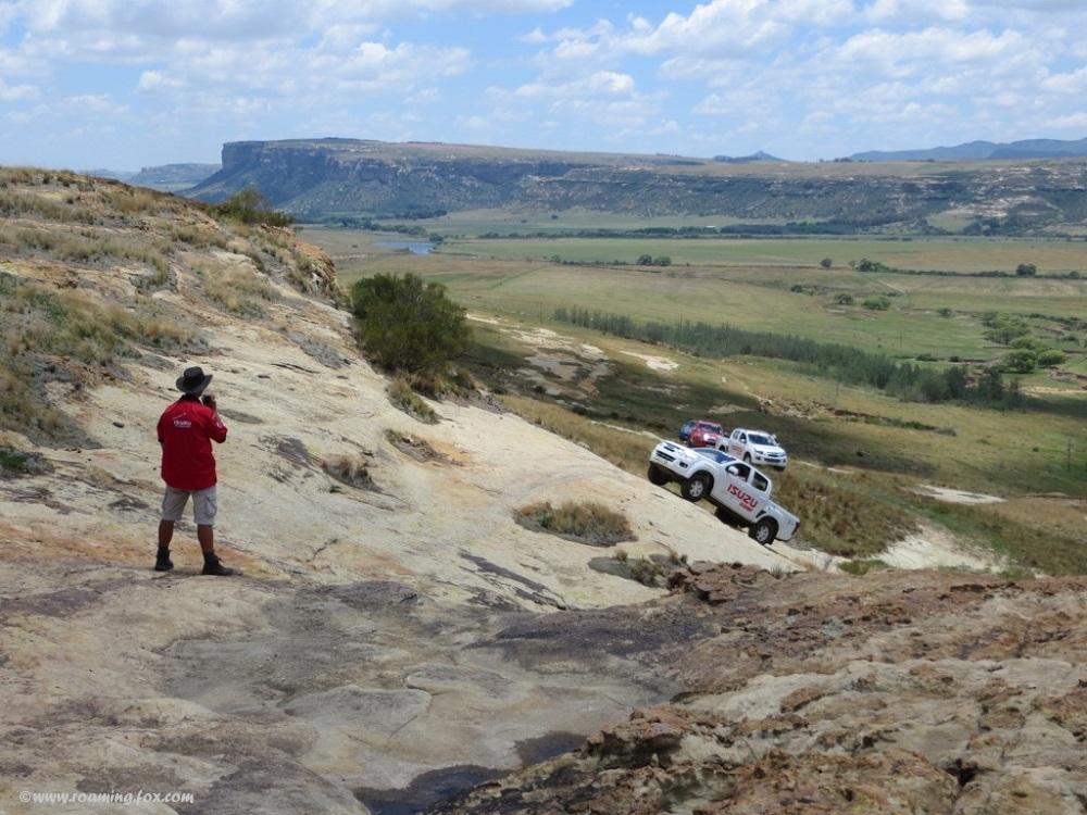 It's an uphill battle on the 4x4 trail at Moolmanshoek
