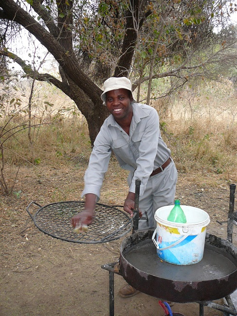 Dan looked after Mazhou Campsite Mapungubwe