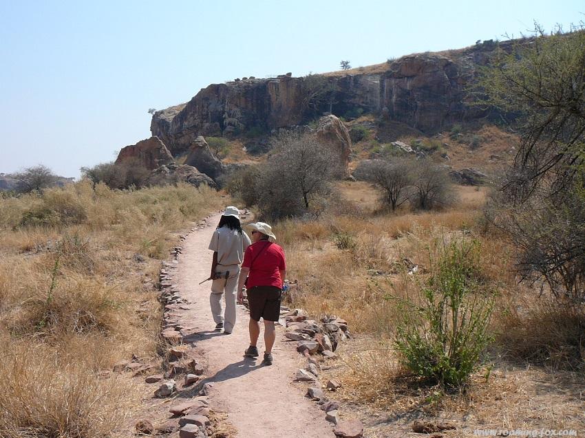 Walking to Mapungubwe Hill