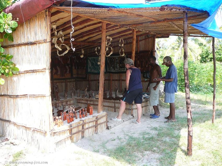 Curio shop Pomene