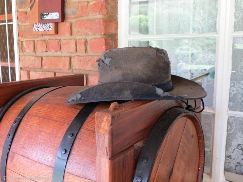 Geluksfontein - lovely wooden barrel