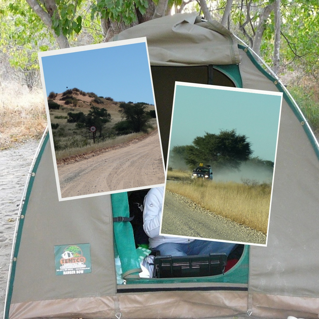 Off grid camping - Kgalagadi