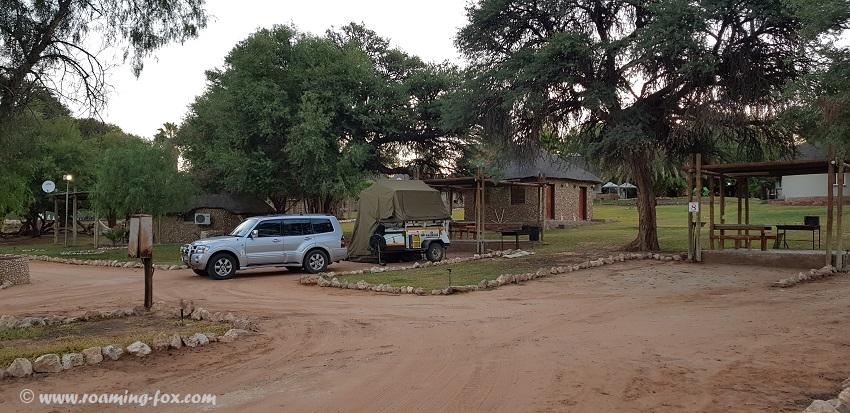 Campsite Molopo Kalahari Lodge