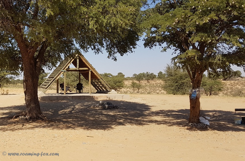 Rooiputs campsite 2 Kgalagadi