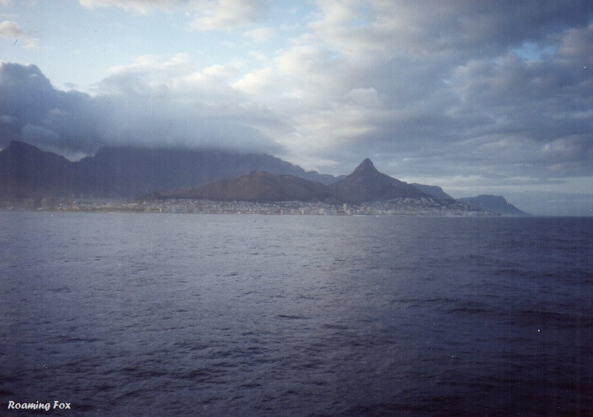 Table Mountain bedecked in cloud