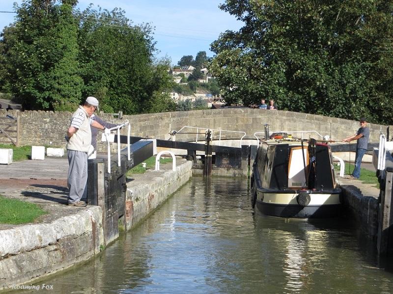 Lock near Bradford on Avon