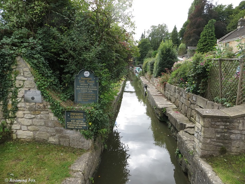 Private canal used to transport coal in the past