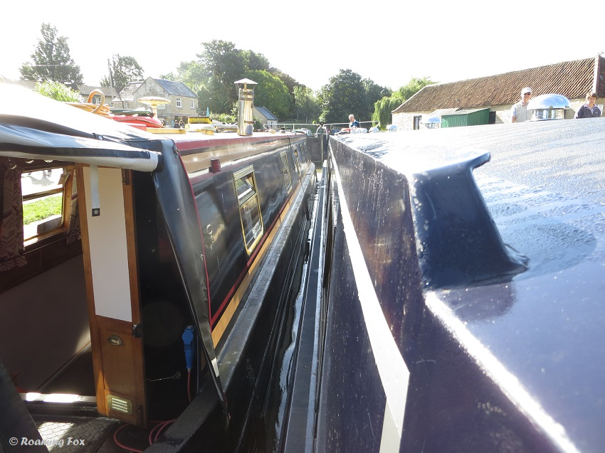 Two boats in a lock