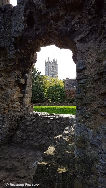 View of All Saints Church Nunney