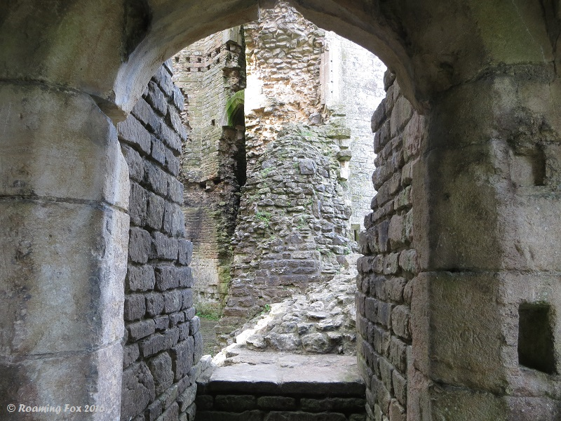 Entrance Nunney Castle.JPG