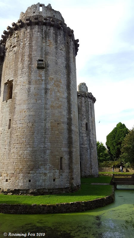 Outer view of Nunney Castle turrets.jpg