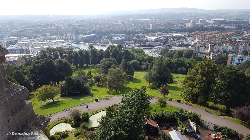 View from Brandon Hill over Bristol