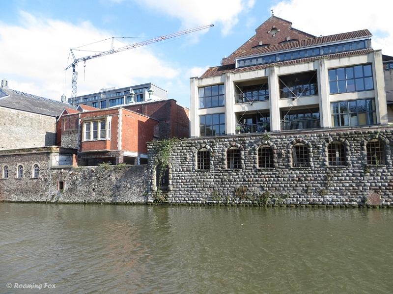 River architecture Bristol