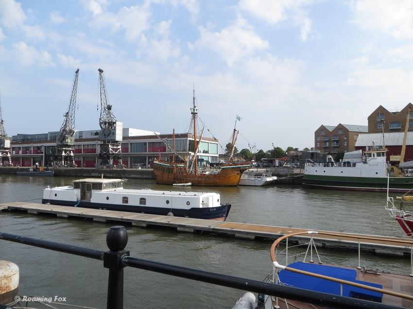 Various ships and boats Bristol