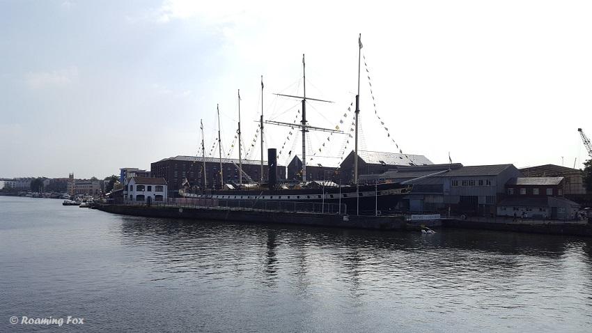 SS Great Britain museum ship Bristol