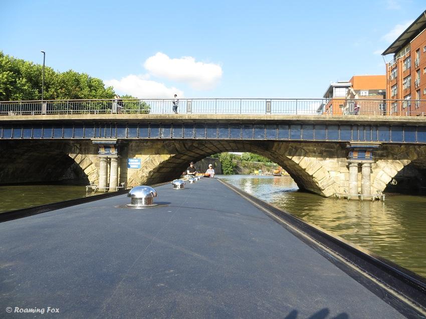 Bridge over river Bristol