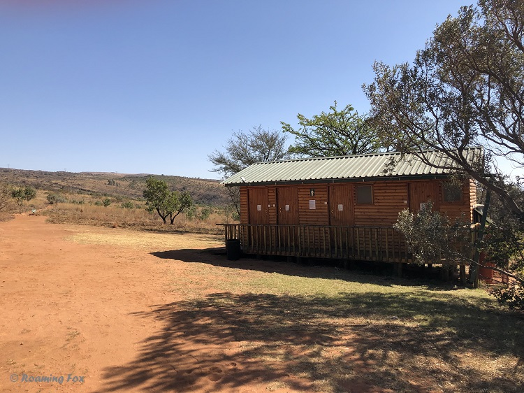 One of the ablution facilities to use when camping or staying in a cozy cabin
