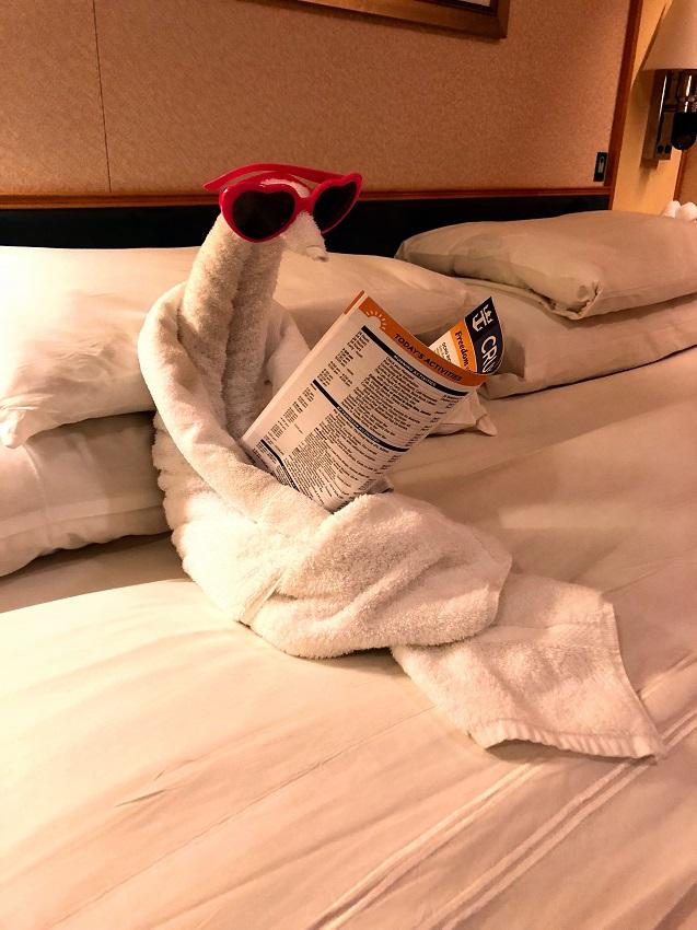 Towel Art Freedom of the Seas 2 Zen Life & Travel