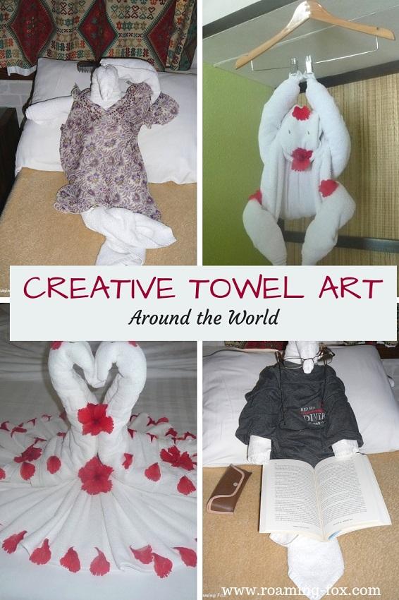 Creative Towel Art around the World
