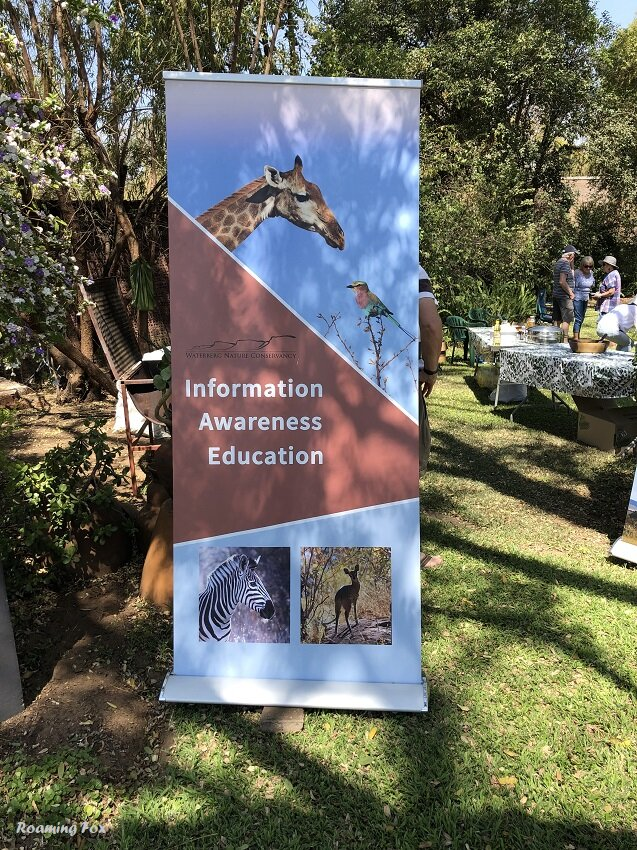 Waterberg Nature Conservancy poster Information awareness education