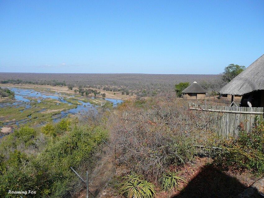 Olifants river at Olifants rest camp Kruger National Park